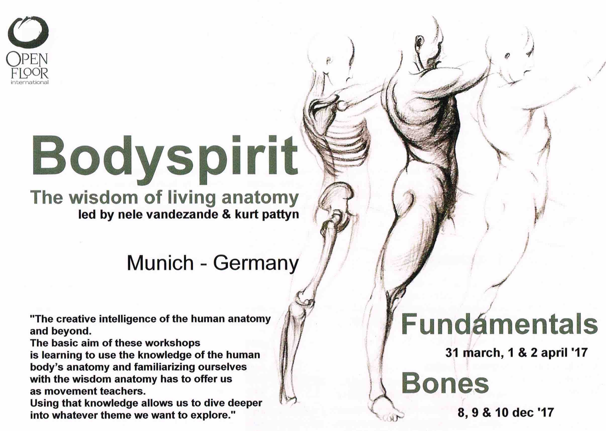 Souldance Bodyspirit The Wisdom Of The Living Anatomie Munchen