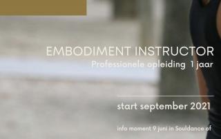 Professionele opleiding - embodiment instructor