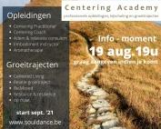 Info-momenten centering academy 2021